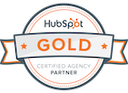 Black and Orange Partner Silver Hubspot