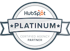 Black and Orange Partner Platino Hubspot